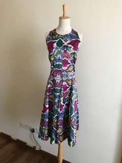 Private collection - BN size 14 multi colour dress
