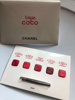 Chanel rouge coco sample