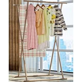 [FREE POSTAGE] Shape Cloth Hanger Garment Organizer Steel Rack #augpayday