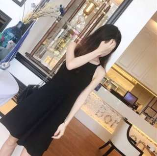 QYOP Ulzzang Basic Dress