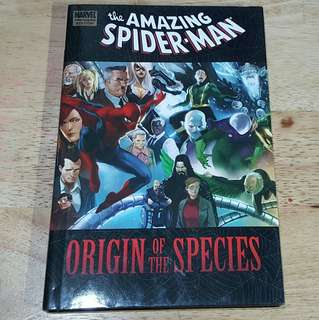 The Amazing Spiderman Origin of the Species HB