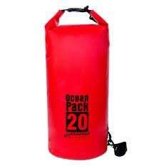 20L dry bag red