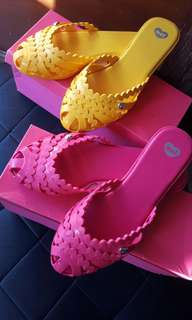 Mel by Melissa jelly mules