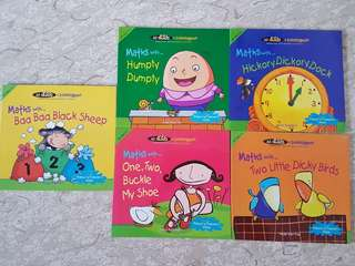 Math educational (set of 5)