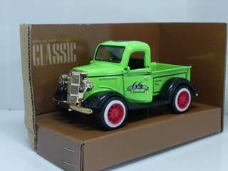 Diecast Mobil Klasik Classical Car - Ford Pickup Hijau MY66