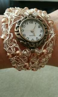 "Brand New Ladie's Watch / Bracelet ""Swarovski"" Material"