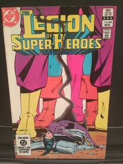 DC Legion of Superheroes Comic Unread