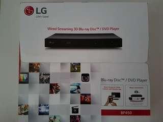 LG Blu Ray Disc / DVD Player