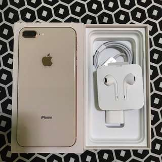 iphone8plus 64gb Globelocked unused accessories Lady owned, 3 months used only Good as Brandnew, no dent/scratch Still within Warranty until December 2018 PM nalang sa interested. :)