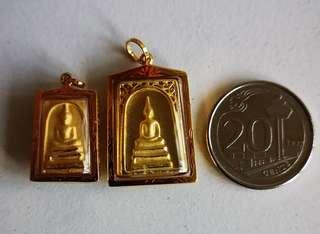 Gold Thai Amulet