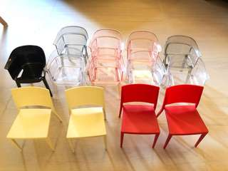 Display design chairs (13 chairs)