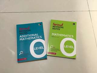 O level topical revision notes - a math and e math