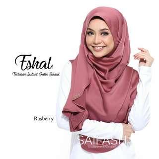 (preorder) Eshal Instant Satin Shawl