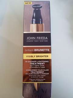 John Frieda Brilliant Brunette In-shower Lightening Treatment