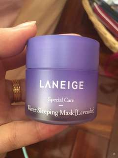 Laneige Sleeping Mask free laneige pouch