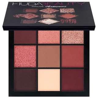 Huda Beauty Obsessions Eyeshadow Palette #Mauve