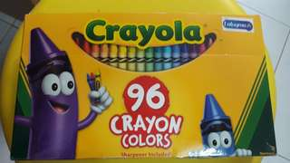 Crayola 96 crayon colors