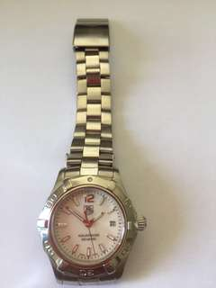 Tag Heuer, women's mother of pearl