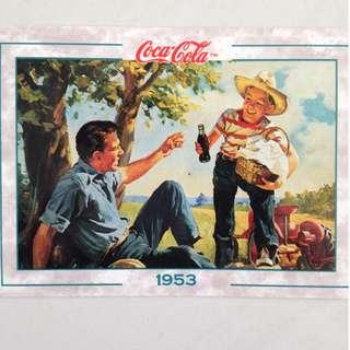 1994 Coca Cola Series 2 Base Card #110 - Original Art - 1953