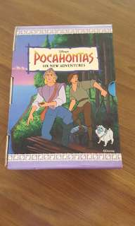 Pocahontus story books for kids