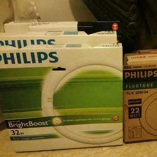 Phillips Circular Light Tubes