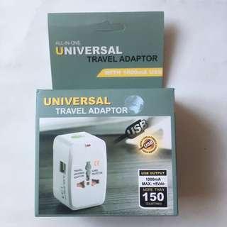 萬用插頭轉換器All-in-one Universal Travel Adaptor