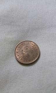 1980年公仔頭5毫