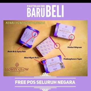 (FREE POS)Honey glow soap
