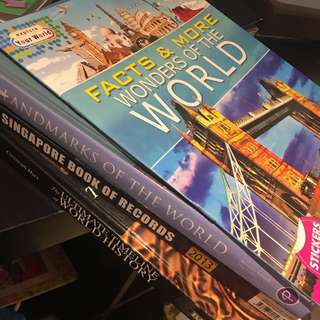 History & World Facts Books