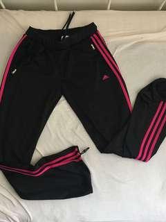 Adidas training pants 3 pink stripes #horegajian
