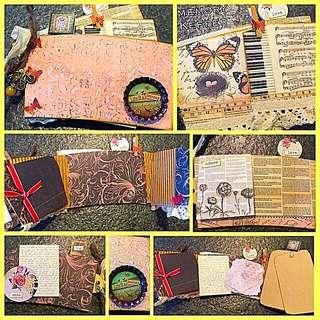 Handmade Mini Album