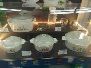 Peanuts Snoopy Corningware Cookware