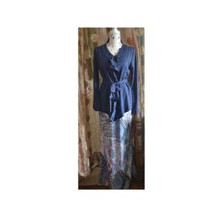 Traditional wear (dark blue)
