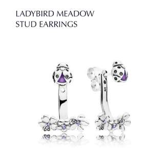 LADYBIRD MEADOW STUD EARRINGS