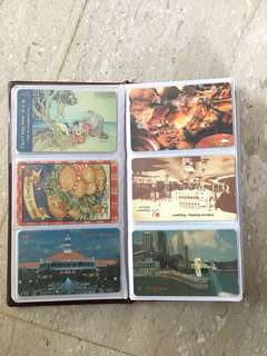 Telephone cards collectibles Singapore SingTel history