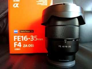 Sony Zeiss 16-35mm F4