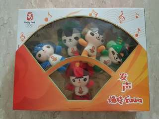 2008 Beijing Olympics Limited Edition Fuwa Plushies