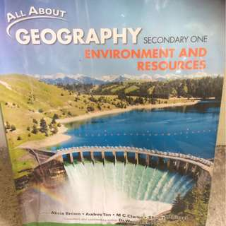 All About Geography Textbook Secondary 1