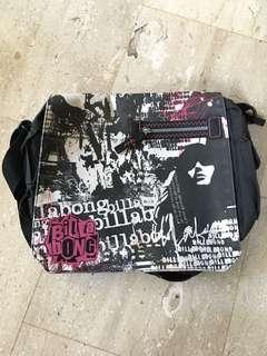 BILLABONG girls sling bag black