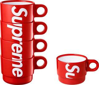 Supreme 2018SS Stacking Cups
