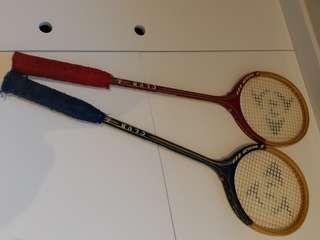 Vintage Wooden squash RACKET DUNLOP