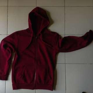 MAROON Hoodie Jacket
