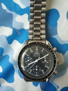Omega 歐米茄 Speedmaster Reduced 3510.50.00小月球計時手錶