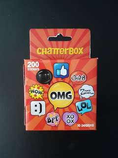 [INSTOCK] BN Chatterbox Stickers (200 stickers)