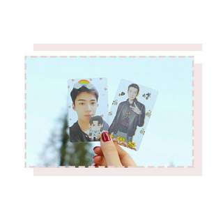 EXO Sehun Transparent Card