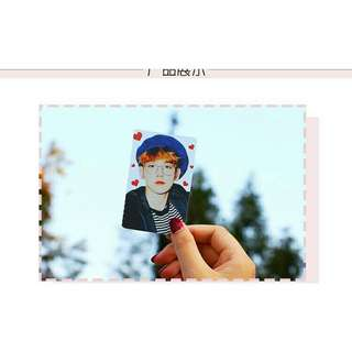 EXO Baekhyun Transparent Card