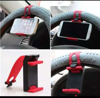 Holder hp di stir mobil.