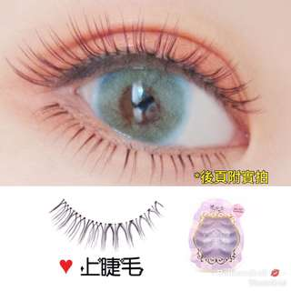 """Yukina"" False Eyelashes Shade: Moon Goodness Japanese Style Natural Comfortable Transparent Branch Reuseable Daily Use 4 pairs 【*Actual Wearing effect shown in  Photo 2】氣質 自然 舒適 透明梗 假眼睫毛 仿真睫毛"
