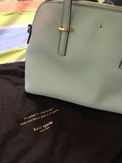 Authentic Kate Spade handbag Mint colour