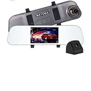 Mayoga rear view mirror dash cam